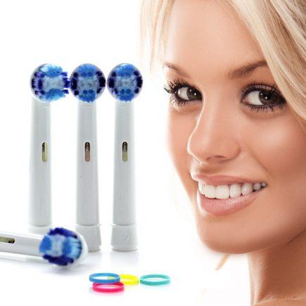 Oral B -hez kompatibilis fogkefefej fogkefe pótfej 1 csomag 4 db