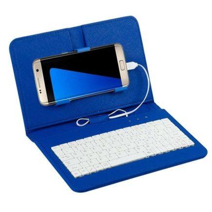 Univerzális telefontok billentyűzettel Kék