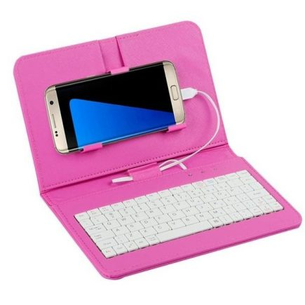 Univerzális telefontok billentyűzettel Rózsaszín