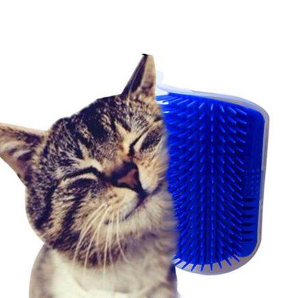 Macskafésű, macska kefe, szőreltávolító (falra szerelhető)