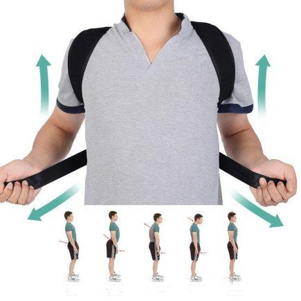 Univerzális Tartásjavító hátpánt, testtartás javító hátegyenesítő