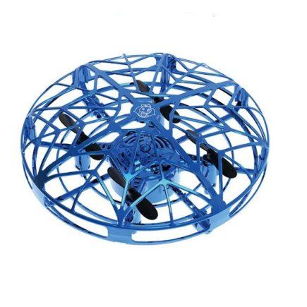 Intelligens, szenzoros UFO játék - légy a levegő királya! Kék és Piros színekben.