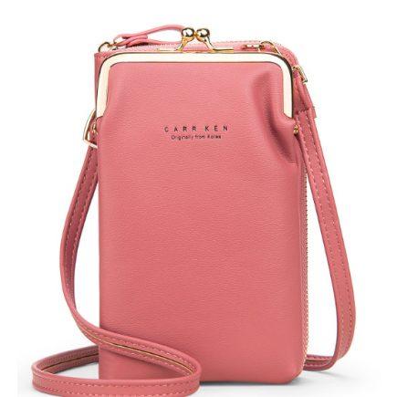 Mobil táska rózsaszín