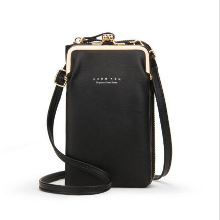 Mobil táska fekete