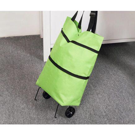 Bevásárlókocsi, gurulós bevásárló táska (vízálló)