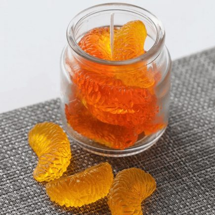 3D narancs szirom szilikon forma