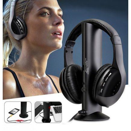Vezeték nélküli fülhallgató, fejhallgató, mikrofonos fejhallgató